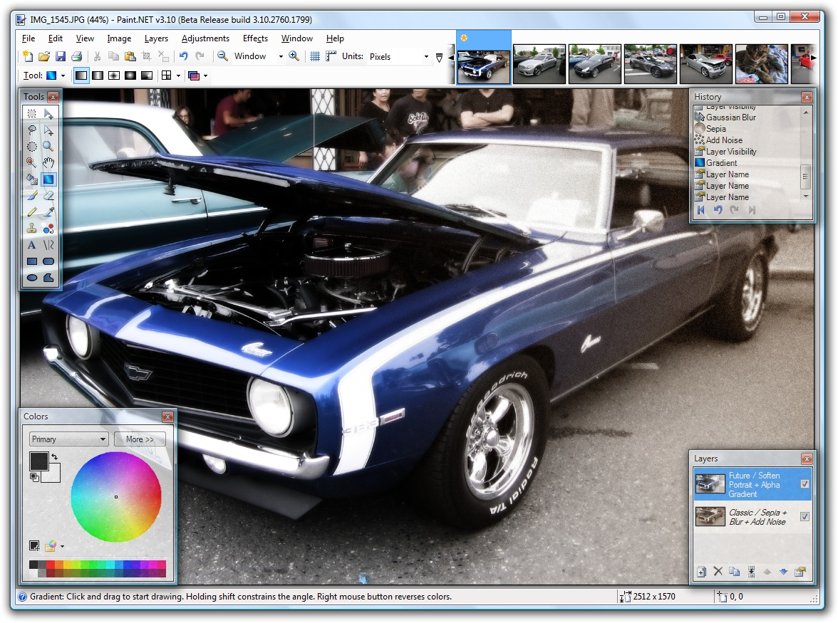 Paint net car editing Paint.NET   A free graphics editor