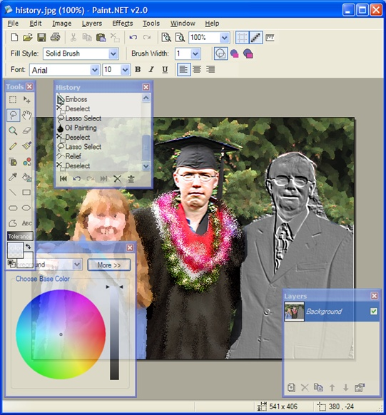 paintnet effects Paint.NET   A free graphics editor