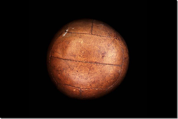 "Soccer Ball ""Federale 102"" World Cup-1934, Italy."