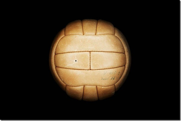"Soccer Ball ""TOP-STAR"" World Cup-1958, Sweden."