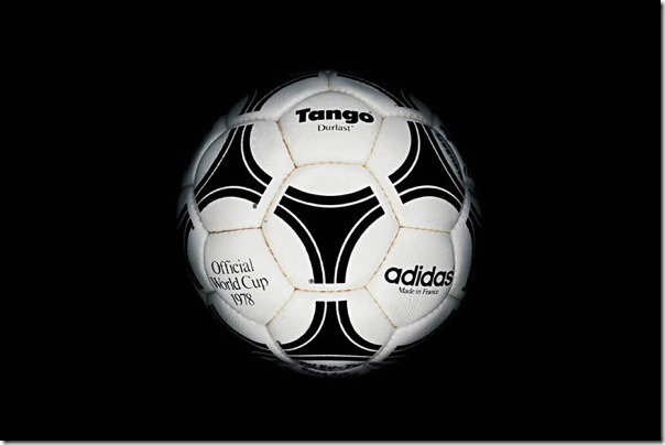 "The official soccer ball ""Tango Riverplate"" World Cup-1978, Argentina."