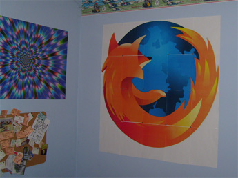 block poster Firefox poster Create Large Wall Posters Online with BlockPosters.com
