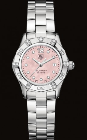 Aquaracer tag heuer WAF141H.BA0813 Diamond Watches for Women from Tag Heuer