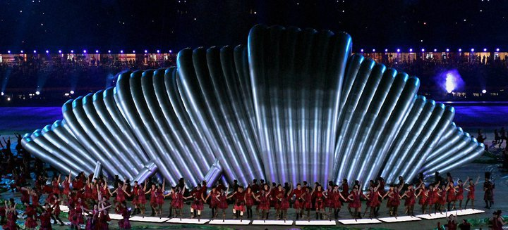 Commonwealth Closing Ceremony 11 CWG 2010:Spectacular Closing Ceremony