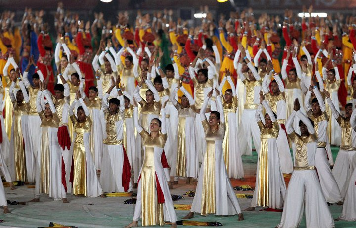 Commonwealth Closing Ceremony 14 CWG 2010:Spectacular Closing Ceremony