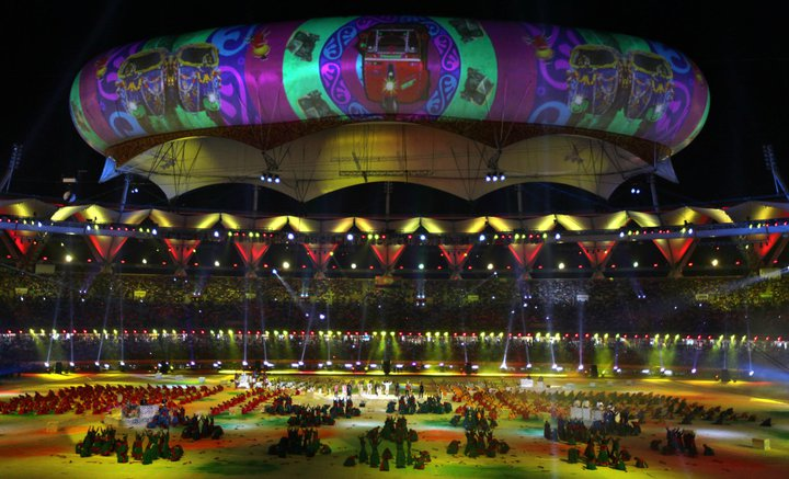 Commonwealth Closing Ceremony 7 CWG 2010:Spectacular Closing Ceremony