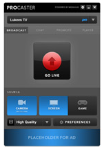 Livestream Podcast Streaming Live Broadcast and Creating Own Custom Channel on Internet for Free