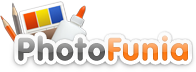 PhotoFunia logo Add Animated Effects To Pictures Online with PhotoFunia