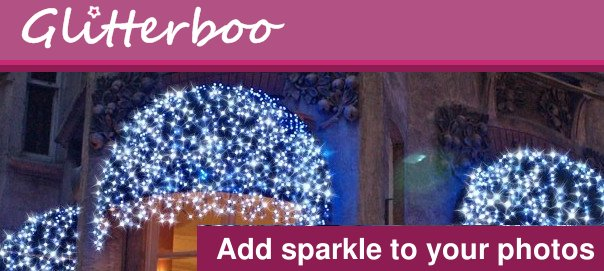 Glitterboo Create sparkling photo effects and animation Apply Glittering and Sparkling Effects to Photos Online with Glitterboo
