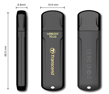 Transcend2 Entry level USB 3.0 Flash Drives launched by Transcend