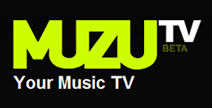 Muzu tv Logo View Music Videos Online with Muzu.tv