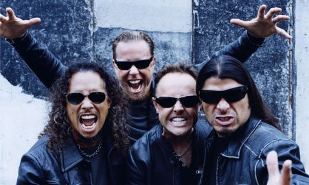 Live Metallica Rock Band in India